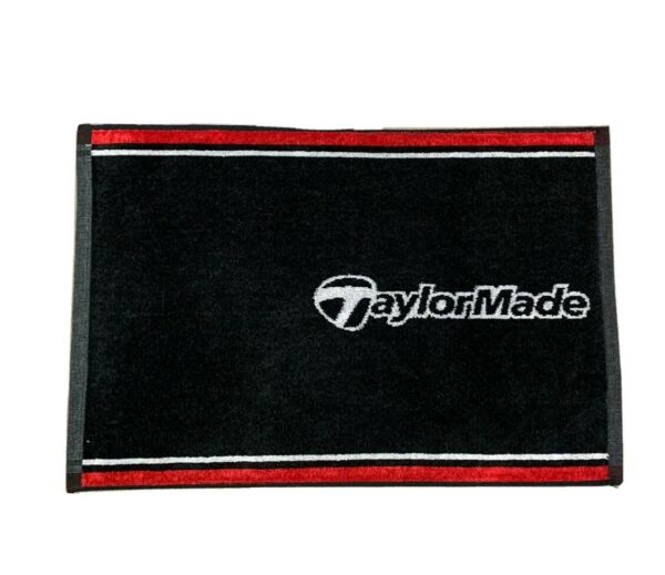 Taylor Made Golf Players Towel 100% Cotton 24 X 16