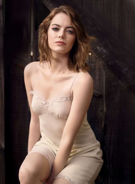 Emma Stone Actress In Lingerie 8x10 Picture Celebrity Print