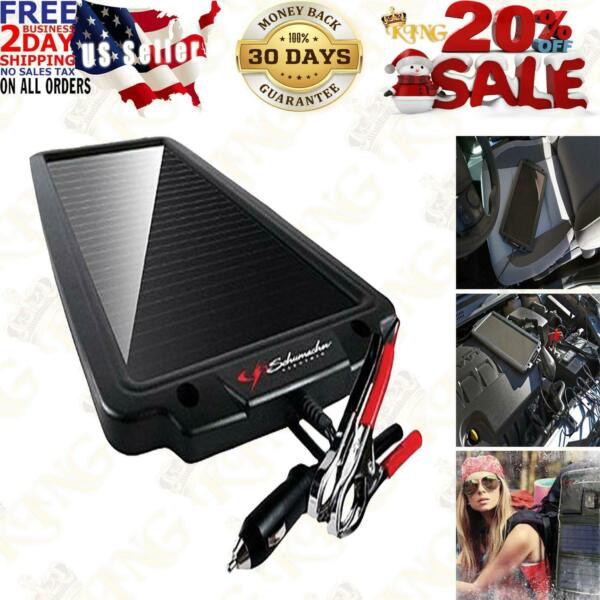 Battery Maintainer Solar Charger 12V Tender Car Trickle Motorcycle Boats Trucks $43.95