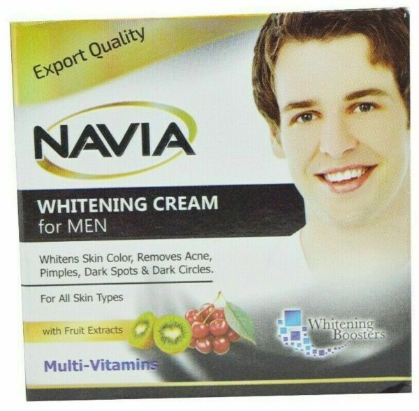 NAVIA Whitening Cream For Men With Fruit Extracts Multivitamins FREE SHIPPING