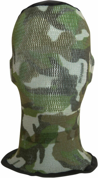 Spandoflage Head Net Green Camo Netting Face Hiding Cover Protection USA Made