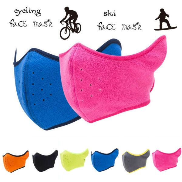 Outdoor Unisex Breathing Shield Anti-Wind Face Mouth Cover For Cycling Bike US