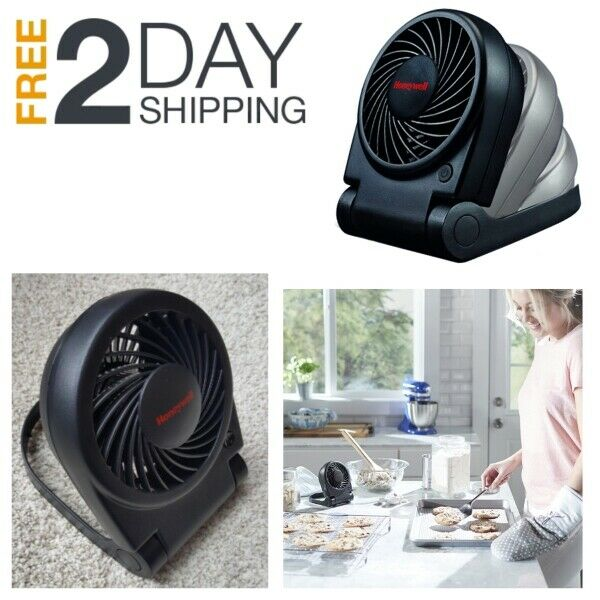 Small Electric Desk Fan Personal Table Air Cooler Mini Portable Home Office Room $17.99