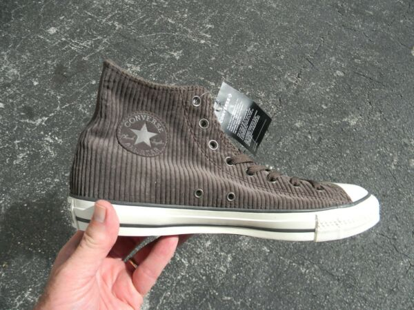 Converse MEN'S Chuck Taylor Hi tops Dark Chocolate   SIZE 12 NEW no  BOX 162722C