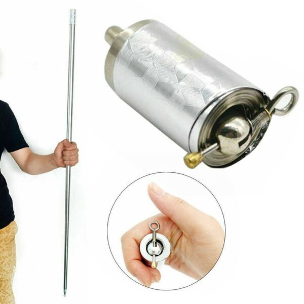 Portable Martial Arts Metal Magic Pocket Bo Staff High Quality Pocket 1.1m
