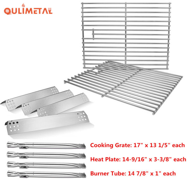 Grill Gas Burner Heat Plates Grates For Home Depot Nexgrill 720 0830H 720 0830D