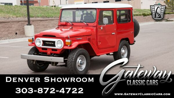 1978 Toyota FJ Cruiser  Red 1978 Toyota FJ40 SUV Inline 6 2F 4 Speed Manual Available Now!