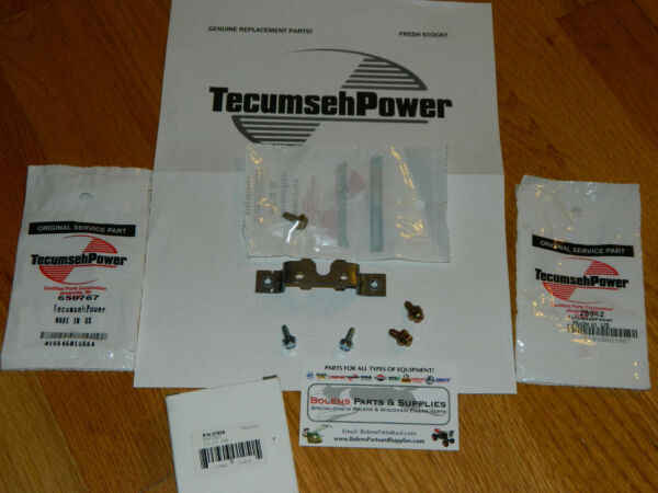 Tecumseh Engine Carburetor bracket Kit 37659 650767 650765 28942 33377 650537