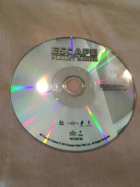 Escape From Planet Earth (DVD 2013) Disc Only $2.99