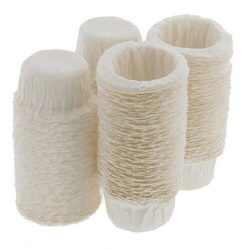 100pcs Set Office Coffee Disposable Paper Filters Cups Keurig K Cup Replacement