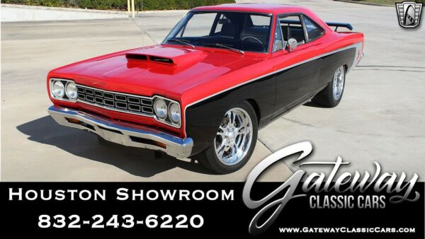 1968 Plymouth Road Runner  RedBlack 1968 Plymouth Road Runner  500 CID V8 5 Speed Manual Available Now!
