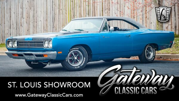 1969 Plymouth Road Runner  B5 Blue 1969 Plymouth Road Runner Coupe 383 C.I.D V8 4 Speed Manual Available No