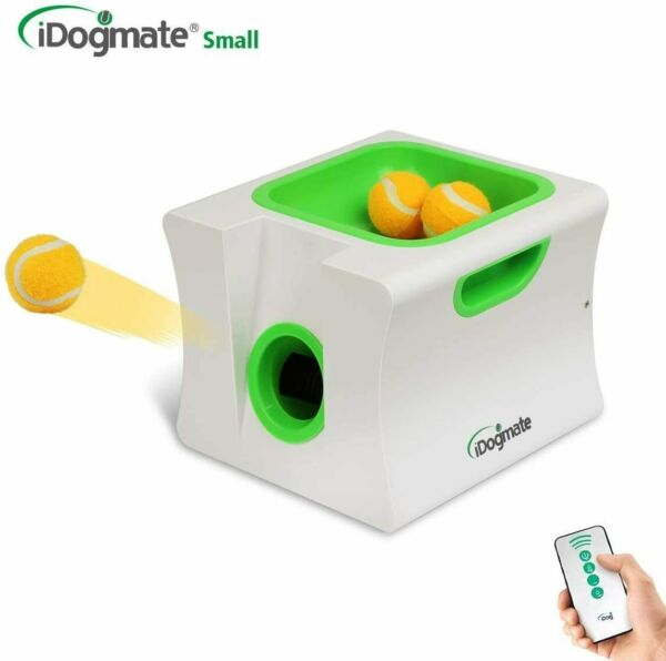 Small Dog Ball LauncherAutomatic Dog Ball Thrower for Mini Dog (Small Machine w