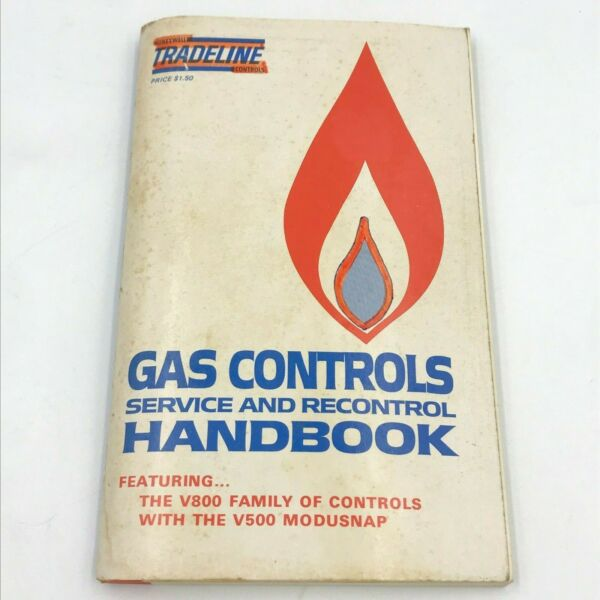 Tradeline Gas Controls Service and Recontrol Handbook Honeywell Manual 1976 BK18 $19.95