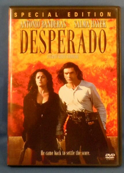 Desperado with Antonio Bandaras & Salma Hayek - *DVD*