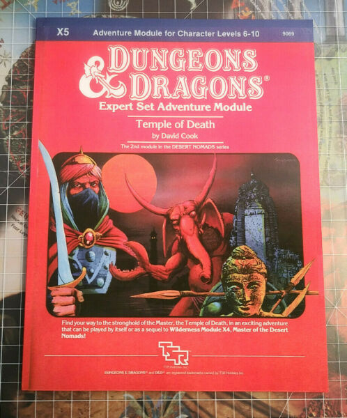 X5 Temple of Death - Dungeons & Dragons AD&D D&D