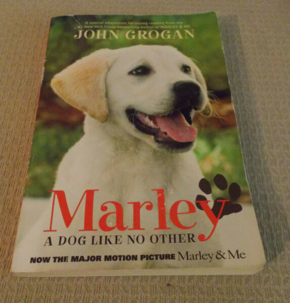 MARLEY: A Dog Like No Other by John Grogan 2008 Paperback Movie Tie In $3.99