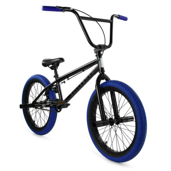 Elite BMX 20quot; Bike Stealth Freestyle Black Blue NEW 2020 1 Piece $249.00