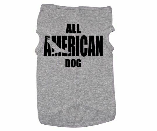 ALL AMERICAN DOG DOG SHIRT PUPPY Outfit PET Apparel PATRIOTIC $17.99