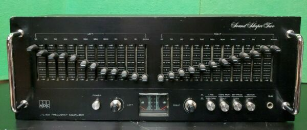 ADC Stereo Frequency Equalizer Sound Shaper Two Mark I SS-2