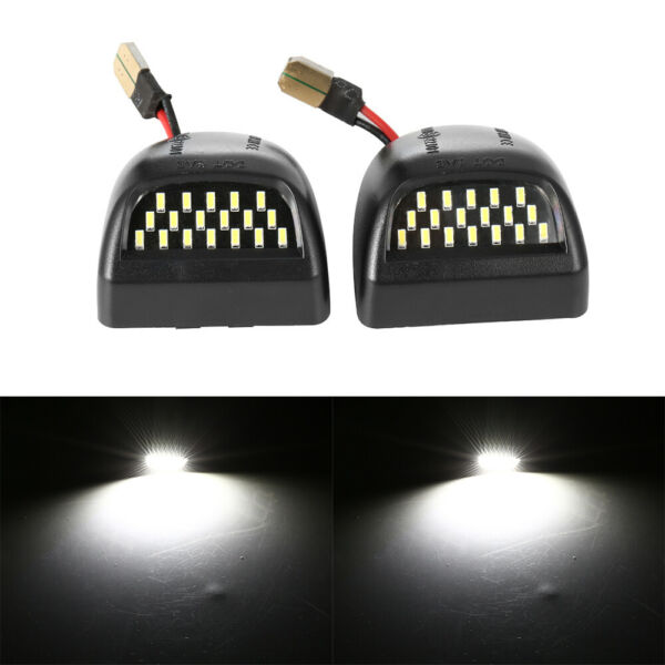2Pcs LED License Plate Light Lamp For 1999 2013 Chevy Silverado 1500 2500 3500