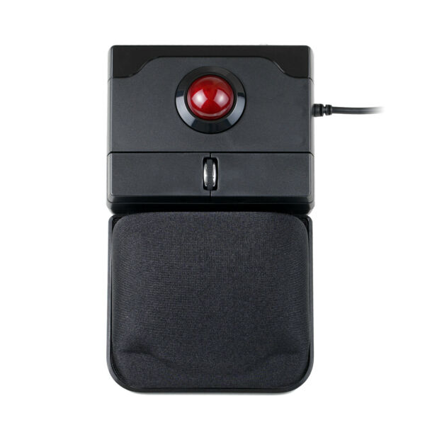 Perixx PERIPRO 506 Wired USB Trackball MousePointing Feature with Gel Palm rest