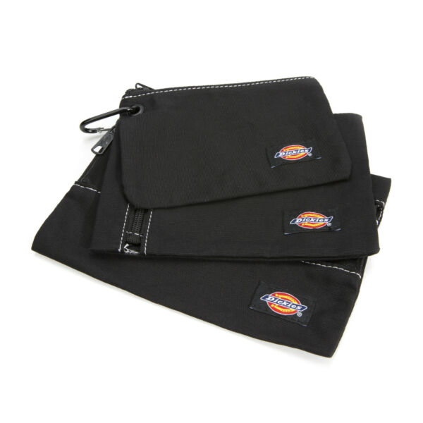 Dickies Black Small Tool and Part Storage 3 Bag Combo Set 57072 $14.99