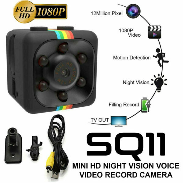 Mini Spy Camera DV 1080P Hidden Home Security Cam Night Vision 32G US