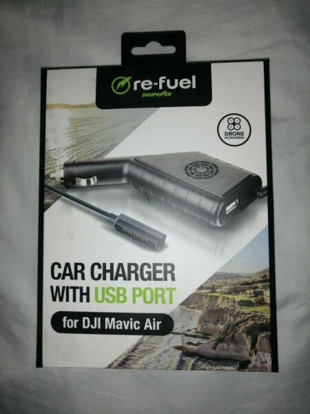 NEW re-fuel Drone Accessories - Car Charger with USB Port for DJI Mavic Air