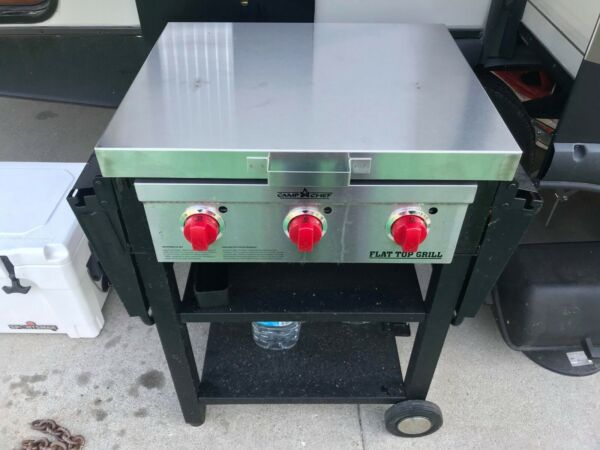 Camp Chef FTG475 stainless cover