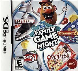 Hasbro Family Game Night Nintendo DS 2009 BRAND amp; FACTORY SEALED
