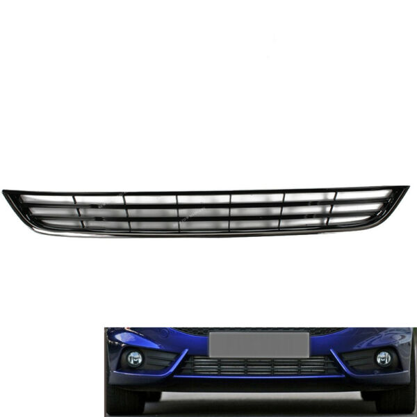 Front Bumper Lower Grill Grille Chrome For Ford Fiesta 2013 2016
