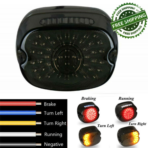 LED Rear Tail Light Brake Fit for Harley Road King Dyna Glide Softail Sportster $26.41