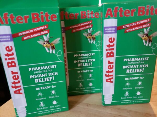 After Bite Advanced formula Itch Relief 0.5 fl oz Insect Bite Sting $13.99