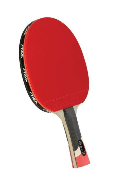 STIGA Pro Carbon Performance Level Table Tennis Racket with Carbon Technology... $143.99