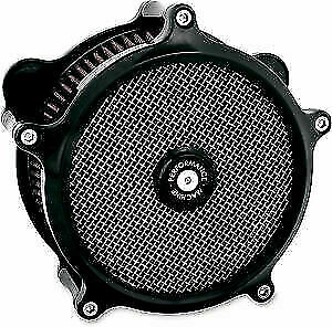 Performance Machine PM Super Gas Stage 1 Air Cleaner Harley FLH TBW 08 16 Black