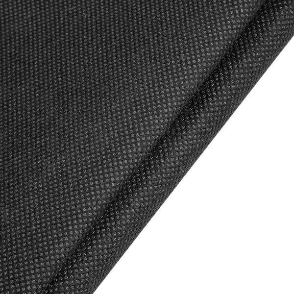 Black Interfacing Polypropylene Mesh Non Woven 36quot; Wide Perfect For Mask Filters