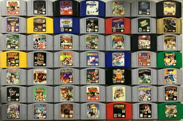 Nintendo 64 N64 games TESTED CLEANED Pins POLISHED AUTHENTIC
