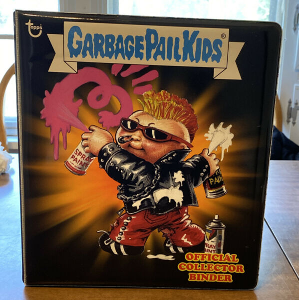 2013 2014 Garbage Pail Kids Official Collector Binder - NEW WAVE DAVE RARE GPK