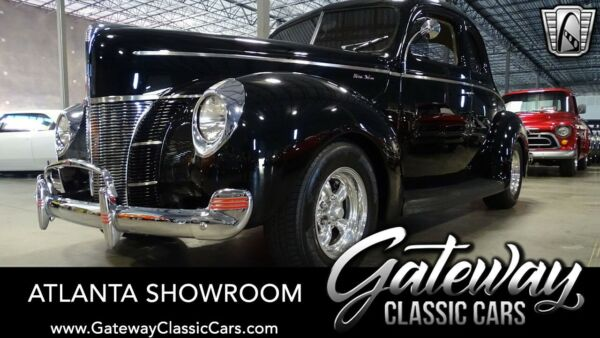 1940 Ford Deluxe  Black 1940 Ford Deluxe Sedan 350CID V8 700R4 Available Now!