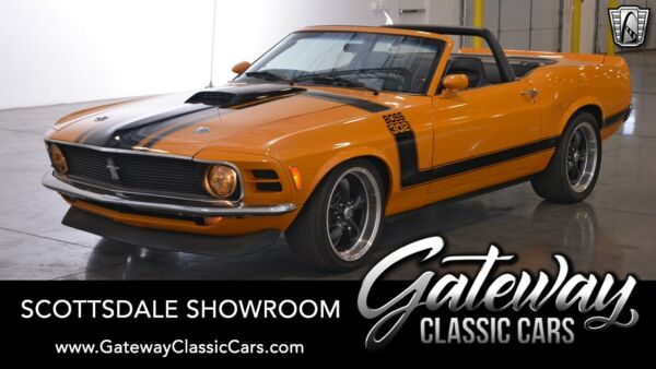 1970 Ford Mustang 302 Boss Tribute Grabber Orange 1970 Ford Mustang Convertible 351 CID V8 5 Speed Manual Available