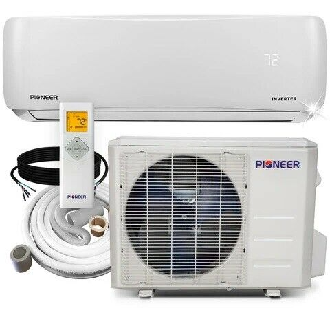 Pioneer® 24000 BTU 17 SEER 230V Ductless Mini Split Air Conditioner Heat Pump $1168.00