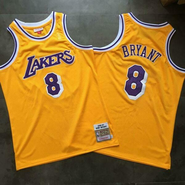 Kobe Bryant Jersey Mitchell and Ness Los Angeles Lakers NBA Home Away Black Blue
