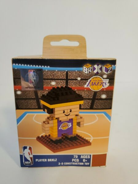 NBA Team Player Shaped BRXLZ 3-D Puzzle Los Angeles Lakers 79 pieces