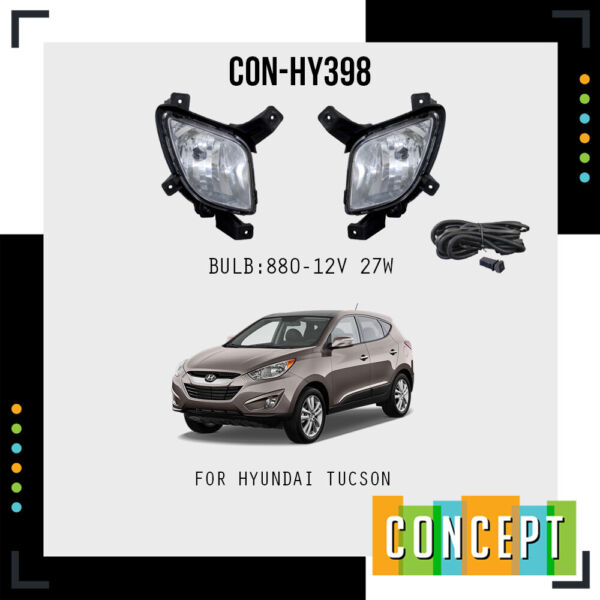 For 2010 2015 Hyundai Tucson Fog Lights Lamps and Assembly Set $69.90