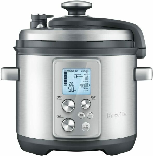 Breville the Fast Slow Cooker amp; Pressure Cooker 6 Qt. BPR700BSS