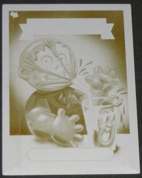 2013 Garbage Pail Kids *Mini Printing Plate* 94a Straw Barry 1of1