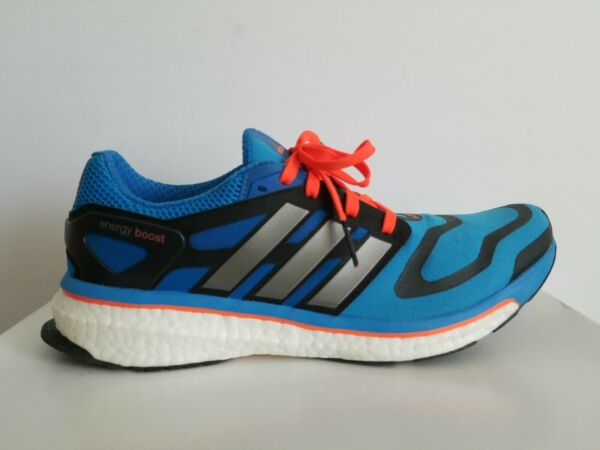 ADIDAS ENERGY BOOST M RARE G96599 BLUE RUNNING SNEAKERS 10.5 13 I LOVE SHOES