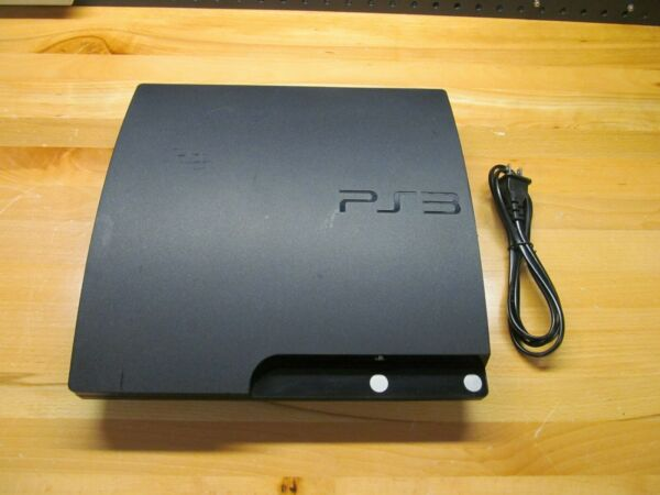 Sony Playstation 3 PS3 Slim 120GB CECH-2001A - New Laser - Console Only  -