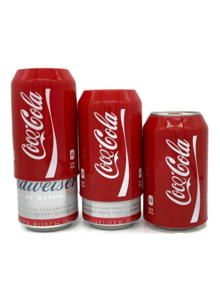 Silicone Beer Can Covers Hide A Beer 3 PACK Coca Cola Sleeve